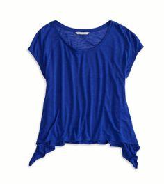AE Drapey Cropped T-Shirt