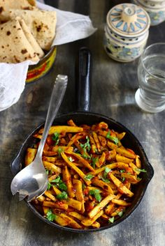 Punjabi Arbi Masala is a delicious gluten-free Indian side dish. Serve it with dal and raita for lunch. Learn how to make arbi masala in few simple steps. Fried Fish Recipes, Veg Recipes, Indian Food Recipes, Vegetarian Recipes, Cooking Recipes, Curry Recipes, Recipes Dinner, Punjabi Cuisine