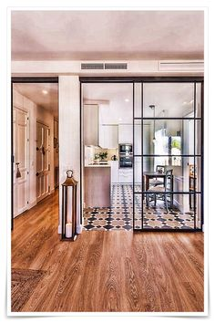 Modern Tiny House, Glass Partition, Diy Home Decor Projects, Switch Covers, Interior Design Kitchen, Decorating Tips, Decor Styles, House Design, Easy