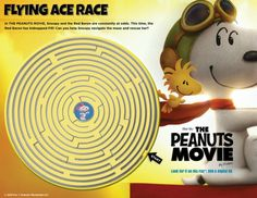 The PEANUTS Movie Giveaway. The Flying Couponer.