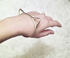 Kitty Bangle!! by rich and damned - so cute!