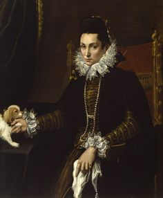 Portrait of Ginevra Aldrovandi Hercolani, Lavinia Fontana, 1595