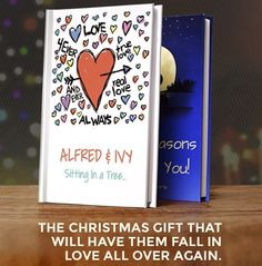 This awesome Detroit-based LoveBook would make a great gift for a significant other!
