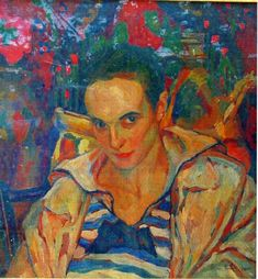 This is theIon Theodorescu-Sion paintings Portrait of Lola Schmierer Roth - Whether you are looking for handmade goods or vintage finds,We will give you the best paintings here,enjoy now Online Painting, Paintings Online, Post Impressionism, Art Database, Figure Painting, Figurative, Artworks, Pocket, Beauty