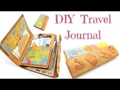 (23) How To Make A Travellers Notebook or Journal - YouTube