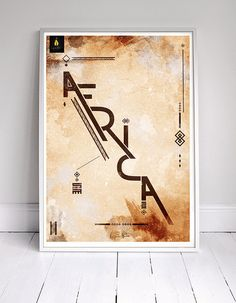 CJWHO ™ (I am Africa | Canvas Frame)