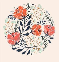 Florals on Behance: