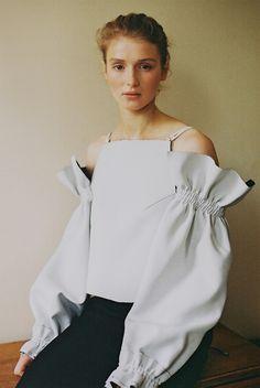 The Editorial Magazine Issue 13 Styling - Yana Surodina Photography - Masha Mel JH Zane Dress Girl Fashion, Fashion Show, Fashion Outfits, Womens Fashion, Paris Fashion, Minimal Outfit, Minimal Fashion, White Shirts Women, Style Minimaliste