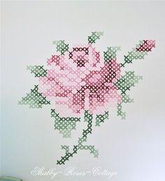 Cross stitch pattern.: