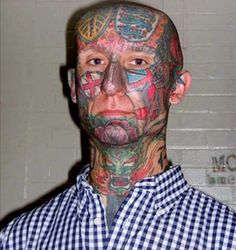 33 Ugly Face Tattoos That Anyone With a Brain Would Regret Ugly Faces, Bad Tattoos, At Least, Brain, Pictures, Nutrition, Check, The Brain, Photos