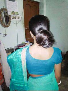 Bun Hairstyles For Long Hair, Braids For Long Hair, Indian Hairstyles, Indian Long Hair Braid, Beautiful Buns, Tamil Girls, Big Bun, Cute Cartoon Girl, Front Windows