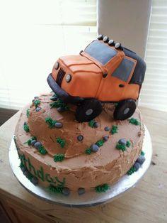 Jeep cake!