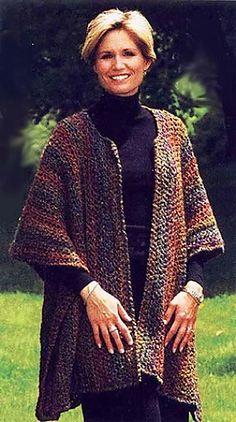 Ravelry: Urban Wrap #997 (Crochet version) pattern by Lion Brand Yarn