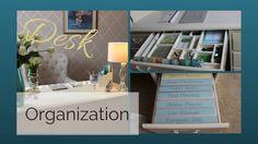 Home Office Organization & Summer Refresh Desk Drawer Organisation, Organisation Hacks, Home Office Organization, Planner Organization, Office Decor, Organized Office, Drawer Dividers, Office Ideas, At Home With Nikki