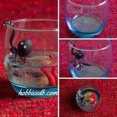 polymer clay aquarium decor - Yahoo Image Search Results