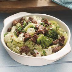 Ovenschotel met bloemkool en broccoli #WeightWatchers #WWrecept #TelVrij
