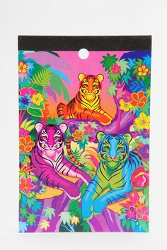 Lisa Frank Limited Edition Vintage Memo Pad - Takes me back! Lisa Frank Stickers, Funny Greetings, Rainbow Art, 90s Kids, Toy Store, Love Art, Painting Inspiration, Childhood Memories, Creative