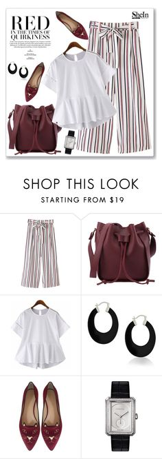 """SheIn"" by amra-mak ❤ liked on Polyvore featuring Bling Jewelry, Charlotte Olympia, Chanel and shein"
