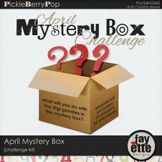 April Mystery Box Challenge Kit