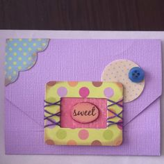 Paper crafting - card By: Cari Driscoll