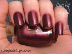 Milani - Blackberry Baby. This color is not so matte looking on me.