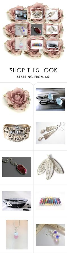 """Lovely gifts!"" by keepsakedesignbycmm ❤ liked on Polyvore featuring Monsoon, etsy, jewelry and accessories"
