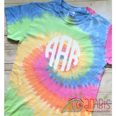 Monogram Tie Dye shirt/tie Dyed Monogram shirt/monogram Tie Dyed... ($20) ❤ liked on Polyvore featuring tops, t-shirts, silver, women's clothing, ribbed t shirt, tie-dye shirts, tie dyed t shirts, heat transfer t shirt and tye dye shirts
