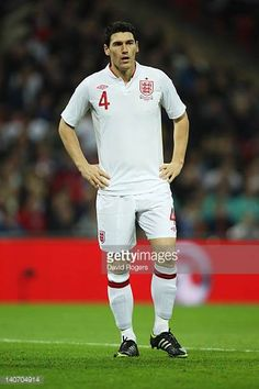 Gareth Barry of England looks on during the international friendly match between England and Netherlands at Wembley Stadium on February 29 2012 in. Wembley Stadium, Netherlands, February, That Look, England, Image, The Nederlands, The Netherlands, Holland