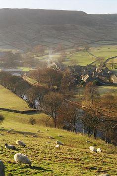 Yorkshire Dales National Park. England.