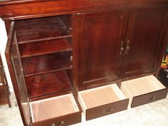34 Best Craigslist Functional June 2012 Images Solid Wood Home Decor Wood Entertainment Center