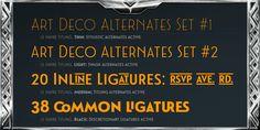 Le Havre Titling Font Poster