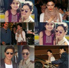 Deepika + SRK