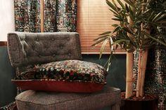 ZULI Armchair   Modern Chairs   Velvet Chair   Chair Design   #modernchairs   #livingroomchairs   #armchairs   Find more at: http://brabbu.com/category/upholstery