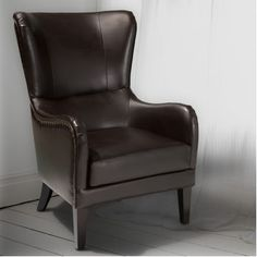 Fairmont Brown Bonded Leather Chair