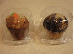 Clear Cupcake Muffin Single Individual Dome Container Box Plastic 20 Pieces  -jumbo size   Huge discounts available now! Baking 4dbad29ff214