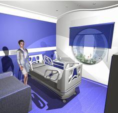 Ambientes comerciais _ apartamento hospitalar