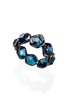 Ippolita - wicked blue topaz ring
