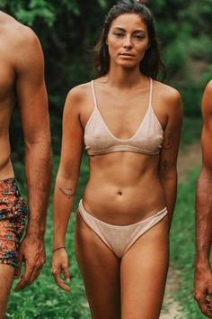 All Categories :: Beauty & Body :: SWIM- & LOUNGEWEAR :: Bikinis :: Bamboo Bottom - Pink - Urbankissed Blue Bikini, Bikini Set, Thong Bikini, Digital Detox, Traditional Fabric, High Cut, Swimsuits, Swimwear, New Product