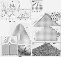 crochelinhasagulhas: Gráfico para busto de cropped