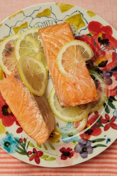 Simple Baked Salmon , an easy fish recipe