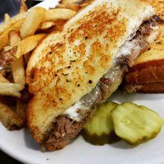 Pot roast sandwich at the Poked Yolk. Mmmm. #yum #sandwich