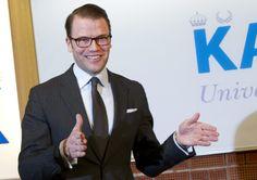 Sweden got crownprincess last night. Very proud prince Daniel!