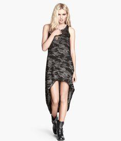 H&M Dress with Burnout Pattern $12