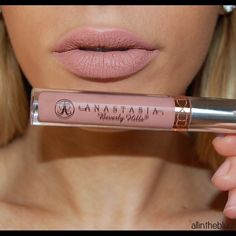 *PREORDER* Anastasia Beverly Hills Liquid Lipstick Color: Pure Hollywood. I ordered this online so I will reserve it for you until I receive it. Anastasia Beverly Hills Makeup Lipstick