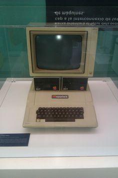 Ordenador Apple 2 en el Museu de Terrassa