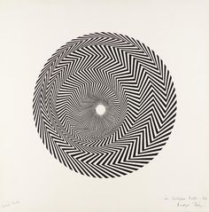 When English painter Bridget Riley, one of the foremost exponents of Op Art and geometric abstraction, first began to paint the black and white works. Wassily Kandinsky, Bridget Riley Op Art, Women Artist, Art History Timeline, Timeline Images, Tate Gallery, Western Art, Female Art, Contemporary Art