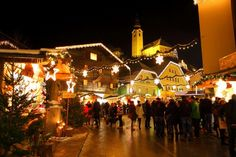 Beautiful Christmas Market at the village square in Grossarl, Austria. Advent, Christmas Markets, Berg, Beautiful Christmas, Austria, Xmas, Marketing, Tourism, Christmas