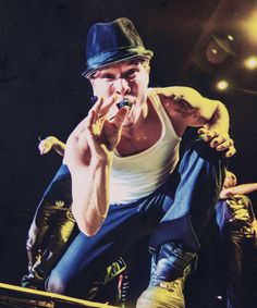 Brian Littrell on stage