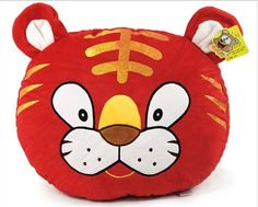 Tiger Stuffed Toy Pillow Decoration