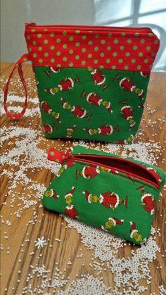 Hey, I found this really awesome Etsy listing at https://www.etsy.com/listing/253530833/grinch-wristlet-handbag-purse-custom